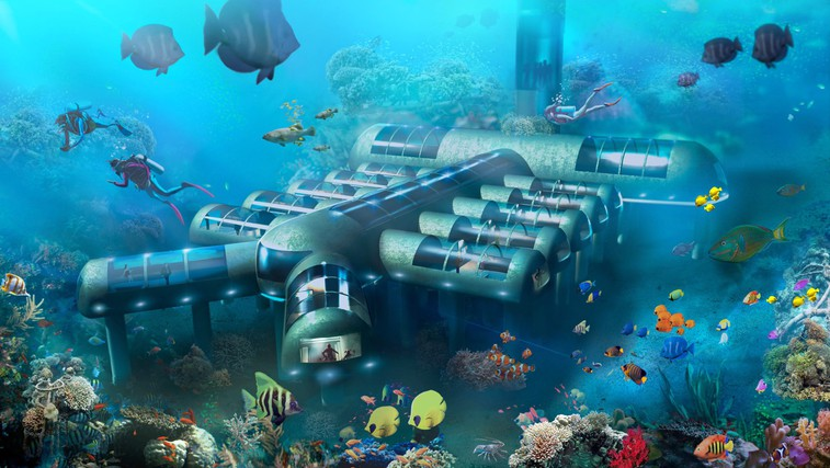 Planet Ocean: Kaj pravite na nočitev 8,5 metrov pod morsko gladino? (foto: Profimedia)