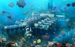 Planet Ocean: Kaj pravite na nočitev 8,5 metrov pod morsko gladino?