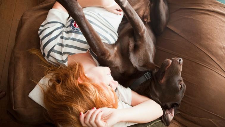 Kako spanje s hišnim ljubljenčkom v resnici vpliva na spanec? (foto: Profimedia)