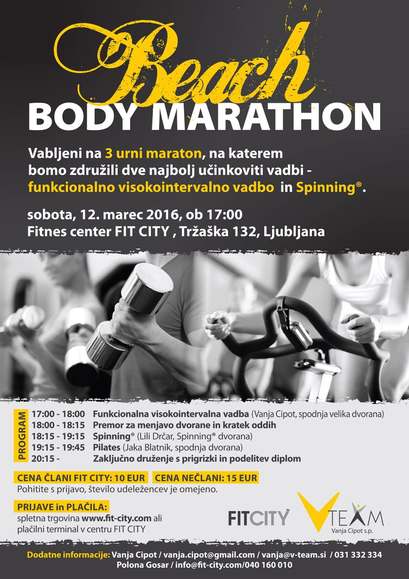 Beach Body Marathon