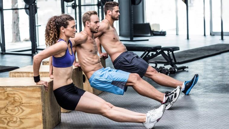 Intervalni trening, ki bo kot za šalo topil maščobe in gradil nove mišice (foto: Profimedia)