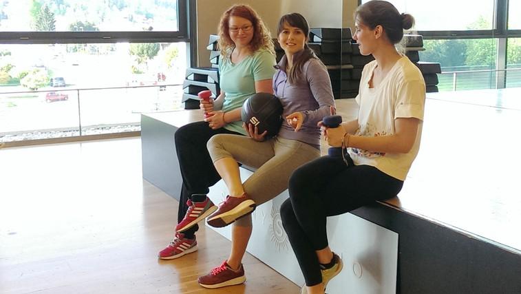 VIDEO: Spoznajte dekleti, ki bosta trenirali s Hano Verdev (foto: Danijel Čančarević)
