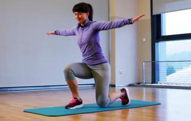 Izziv s Hano Verdev: Nadgrajujemo trening za noge in zadnjico (2. teden)