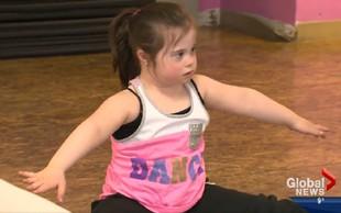 Poglejte si, kako deklica z Downovim sindromom pleše hip hop