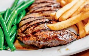 Bržolni (rib eye) steak