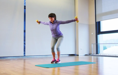 Izziv s Hano Verdev: Vaje za zgornji del telesa (3. teden)
