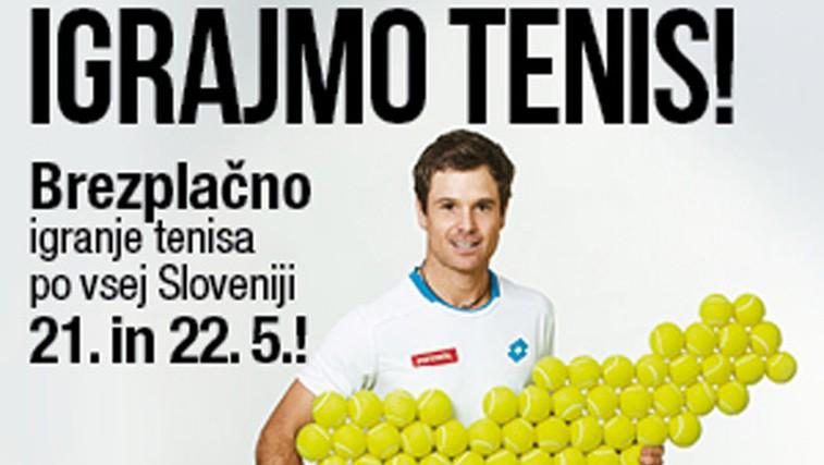 »IGRAJMO TENIS!« po vsej Sloveniji (foto: Promocijsko gradivo)