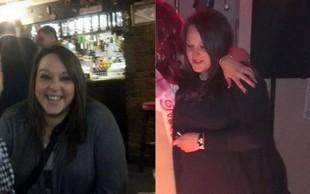 FOTO: Zaradi zbadljivk je shujšala za 50 kilogramov - oglejte si njen rezultat!