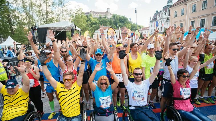Wings for Life World Run: Podrta magična meja 80 km! (foto: Jure Makovec in Bor Dobrin)