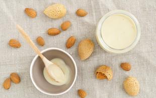 Kako lahko sami pripravite mandljevo mleko?