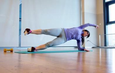 Izziv s Hano Verdev: Vaje za trebušne mišice (5. teden)