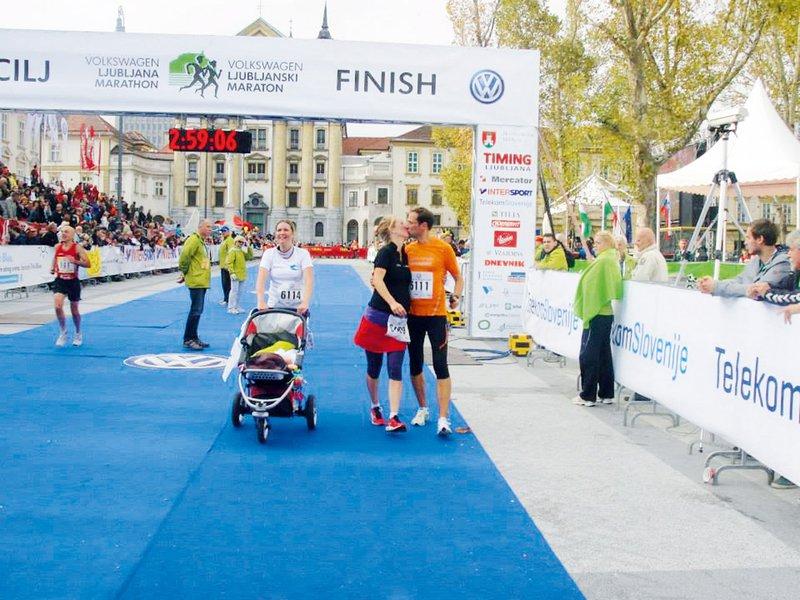 Jasmina Kozina Praprotnik, Ljubljanski maraton 2013