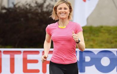 Jerca Zajc Šušteršič: Med maratonom sem razmišljala, kako lepo in srečno življenje imam