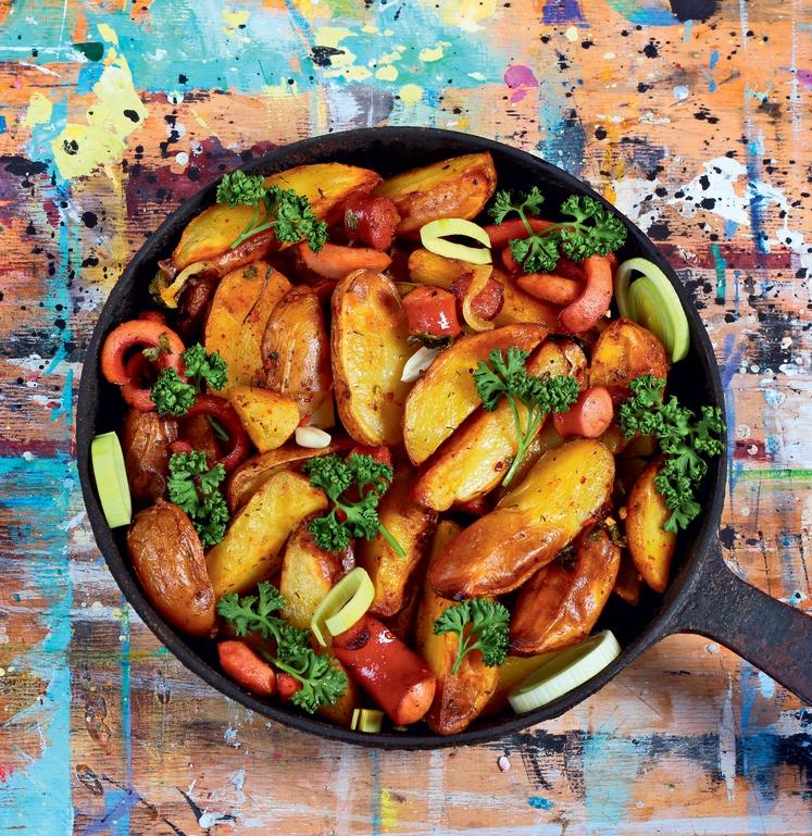 Olje za cvrtje, maslo, kisla smetana, kečap in drugi prelivi … Zato. Res je, da krompir vsebuje ogljikove hidrate in …