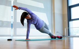 Izziv s Hano Verdev: Vaje za trebušne mišice (8. teden)
