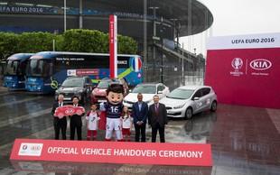 Kia s svojo floto nared za EURO 2016