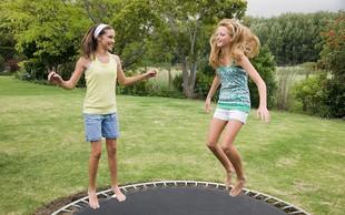 Vadba na trampolinu ni primerna niti za ženske niti za deklice