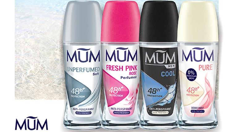 Spoznajte novo družino odličnih in koži prijaznih dezodorantov MUM (foto: Promocijsko gradivo)