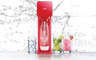 SodaStream: Naprava za pripravo osvezilne vode z mehurcki iz domace pipe