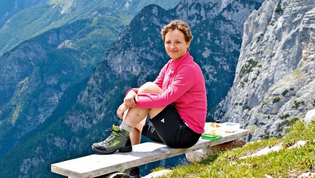 Maja Kuzma: Kako kot gluha oseba doživljam gore (foto: Uroš Jakopič in osebni arhiv)