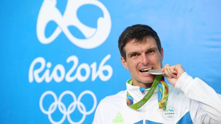 Rio 2016: Peter Kauzer iz Ria s srebrno kolajno (foto: Aleš Fevžer)