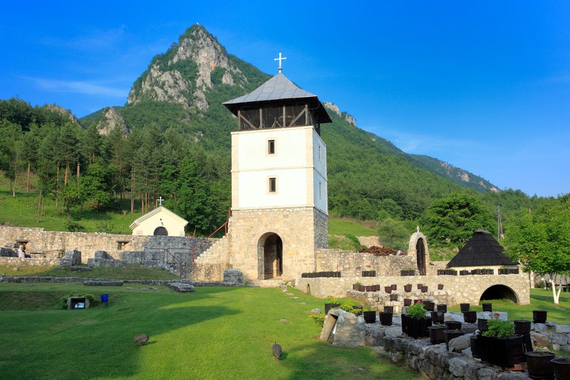 Manastir Mileševo, Srbija