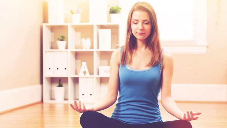 To se zgodi, če meditirate pol ure na dan (foto: Shutterstock.com)