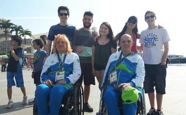 Slavnostni sprejem slovenskih paraolimpijcev