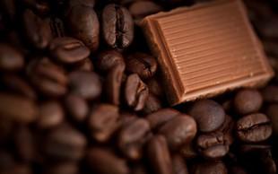 Temna plat čokolade, kave, sladkorja in riža