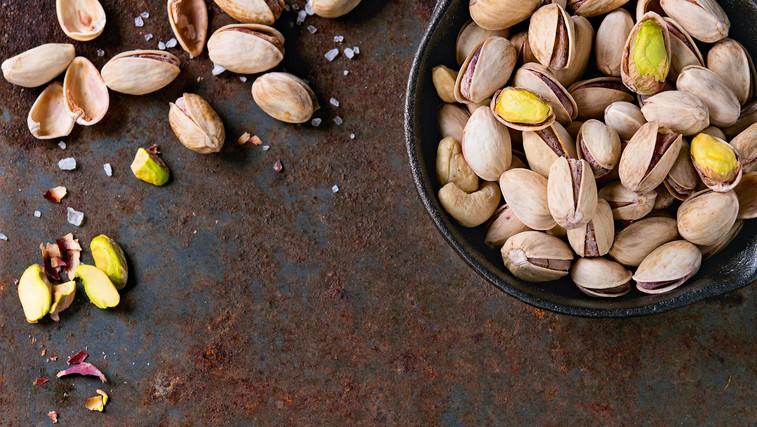 Dieta s krepčilnimi oreščki - pistacijami (foto: Profimedia)