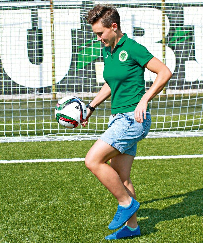 Lucija Grad, nogomet
