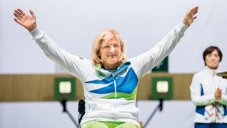 Veselka Pevec: Fant jo je ustrelil. Zdaj je paraolimpijska prvakinja v streljanju. (foto: Maja Sodja)