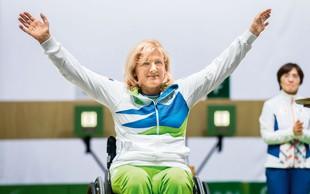 Veselka Pevec: Fant jo je ustrelil. Zdaj je paraolimpijska prvakinja v streljanju.