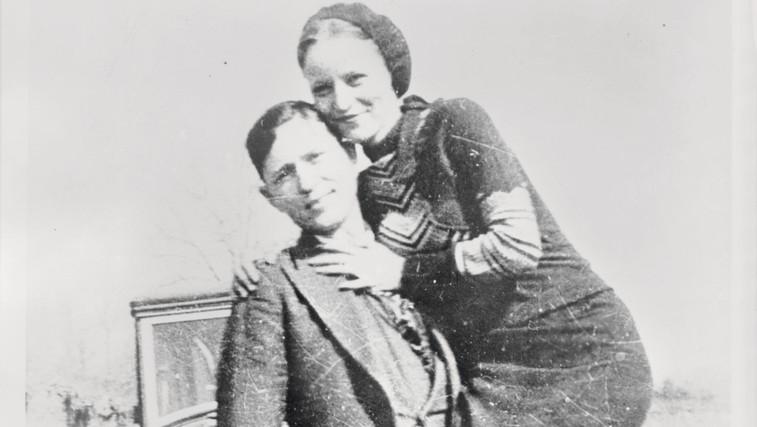 Bonnie Parker in Clyde Barrow: Zločinska Romeo in Julija (foto: Profimedia)
