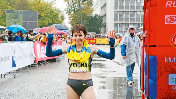 Helena Javornik, slovenska rekorderka v maratonu in evropska prvakinja v krosu leta 2002.