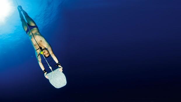 Jure Daić: Prvi Slovenec, ki se je z enim vdihom potopil globlje od stotih metrov (foto: osebni arhiv)