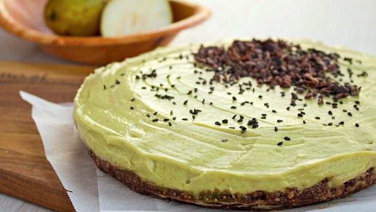 RECEPT: Avokadova torta s hruškami (foto: Danilo Easy recepti)