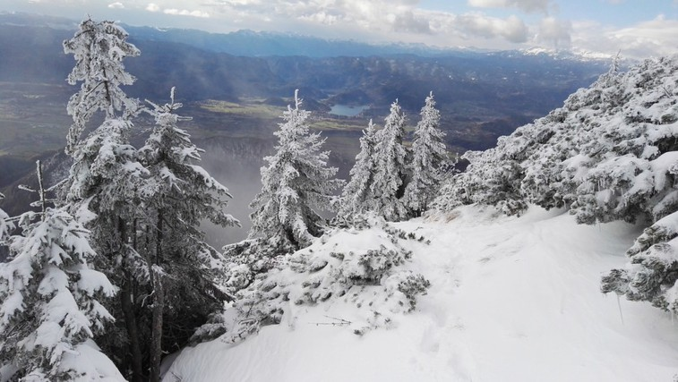 Kam teči v hribe pozimi? (foto: Bojan Ambrožič)