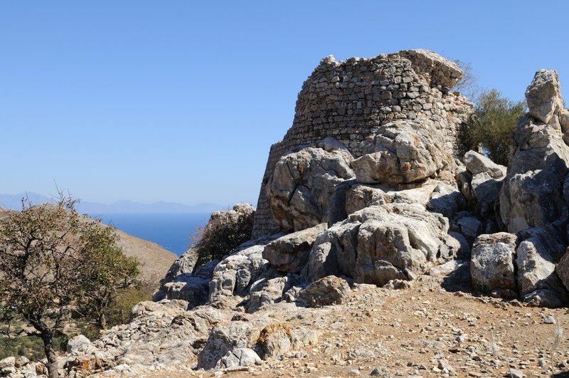 Mikro Chorio, Tilos, Greece