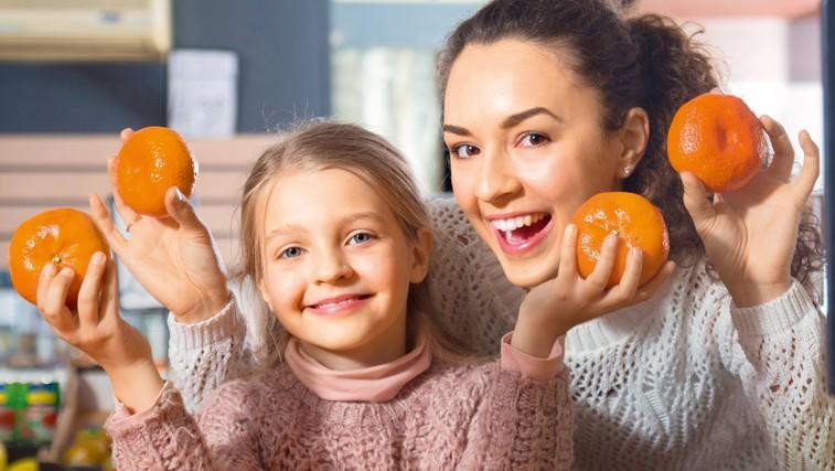 Za zdravo zimo jejte mandarine (foto: Shutterstock)