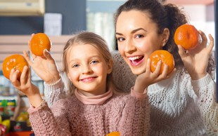 Za zdravo zimo jejte mandarine