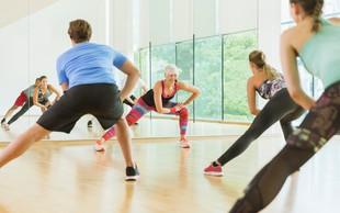 25 minut za topljenje maščob, boljšo koordinacijo in večjo gibljivost