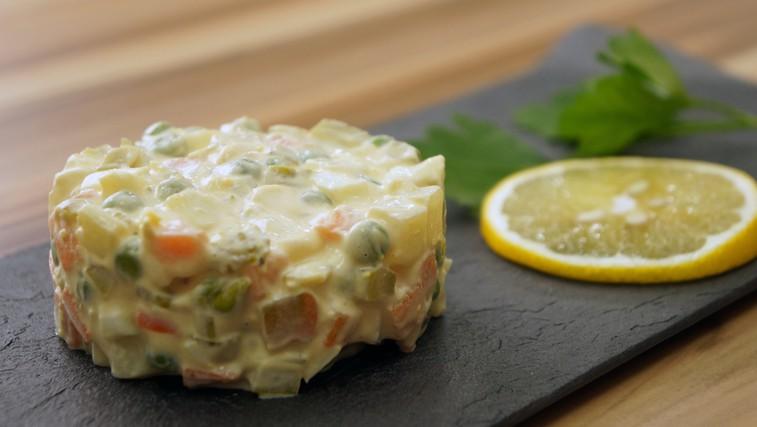 VIDEO: Tako pripravite najboljšo francosko solato (foto: Gojko Zrimšek)