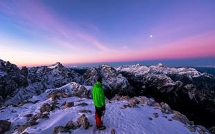 Dih jemajoče fotografije gora