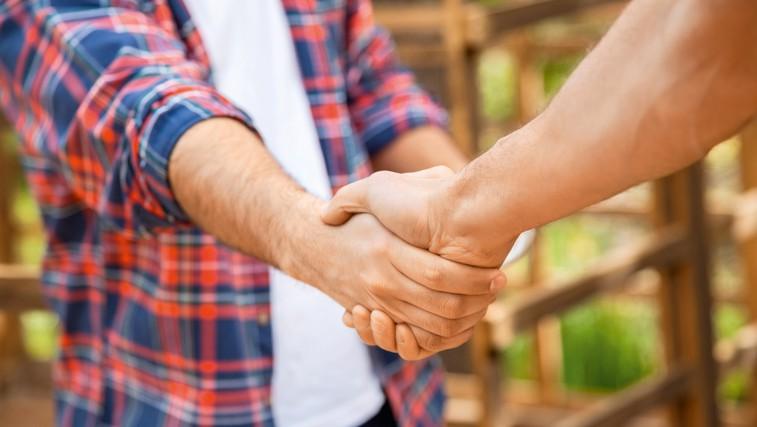 Kaj o vas pove stisk roke (foto: Shutterstock.com)