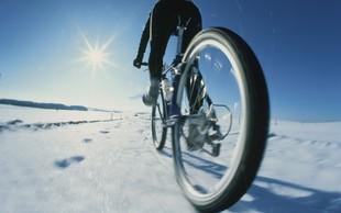 Tudi pozimi kolesarite, a upoštevajte TE nasvete