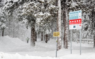 V Julijskih Alpah postavili prve plazovne informacijske table