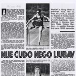 Novinar Sportskih novosti, ki se je leta 1979 navduševal nad uspehi novomeškihatletov,je Penco označil za asketa. (foto: Goran Antley, osebni arhiv Janeza Pence)