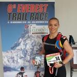 Andreja Sterle Podobnik: Slovenka, ki je na teku Everest Trail Race prepričljivo zmagala (in postala Slovenka leta 2016)! (foto: osebni arhiv)