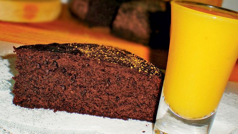 Recept: Rožičev kolač (foto: Osebni arhiv)